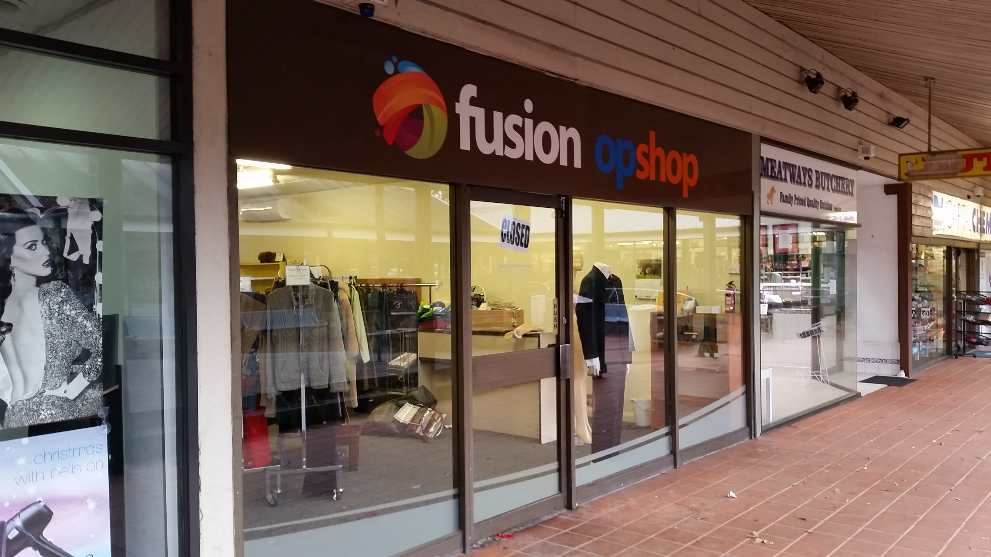 Everyone is invited to Fusion Op Shop's Official Opening Celebration on the 3rd December