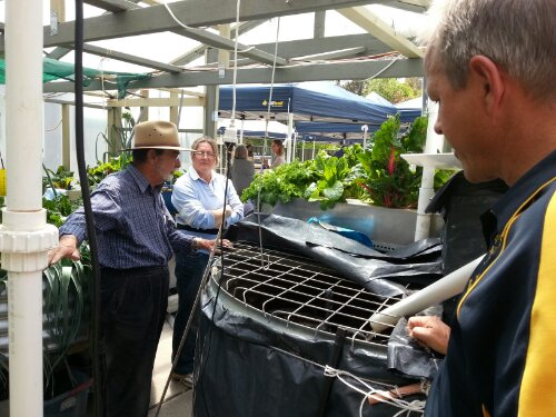 YWAM National leaders tour Fusion Canberra's aquaponics systems