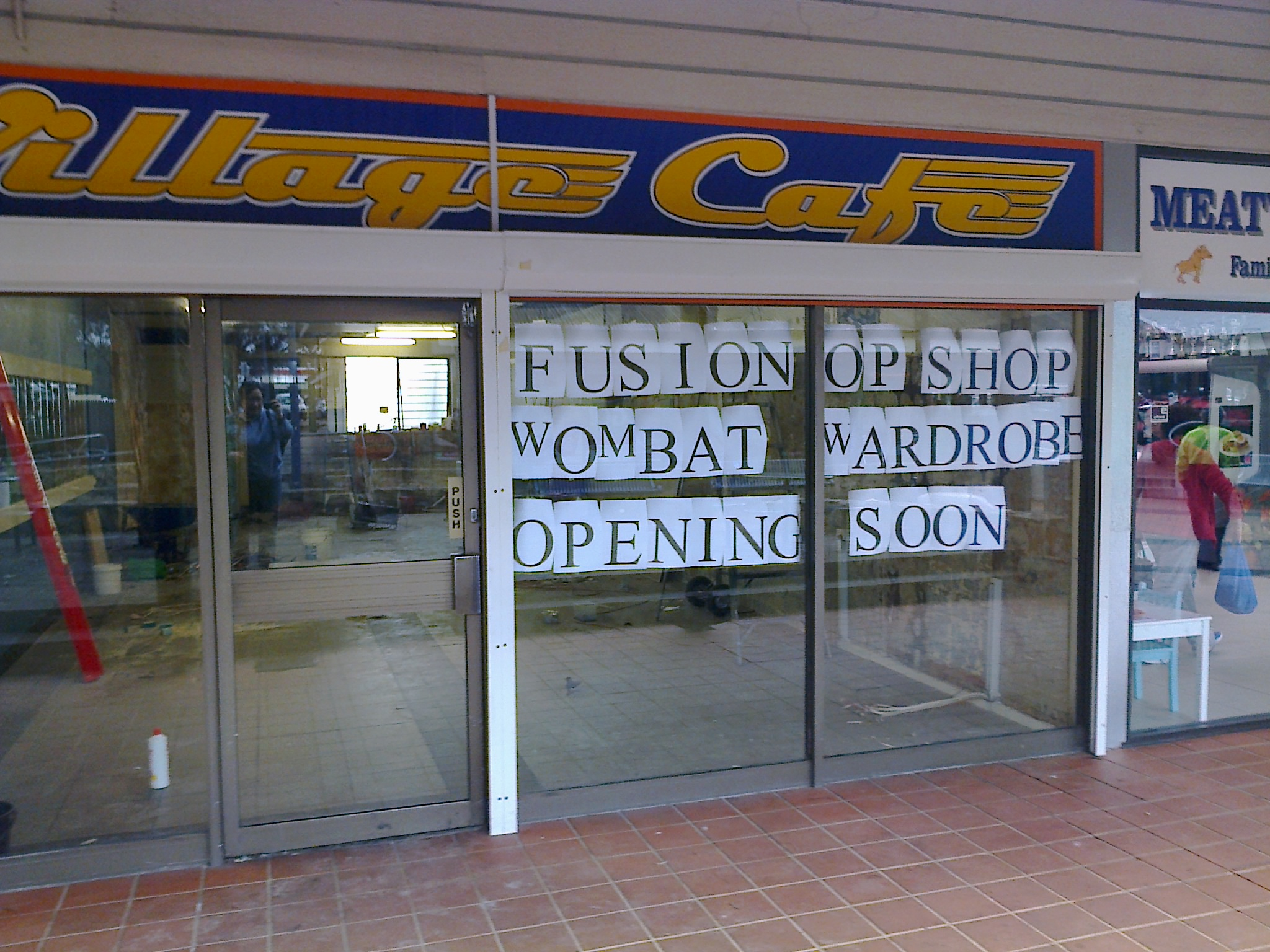 Wombat Wardrobe is moving on August 18th and becoming Fusion Op Shop