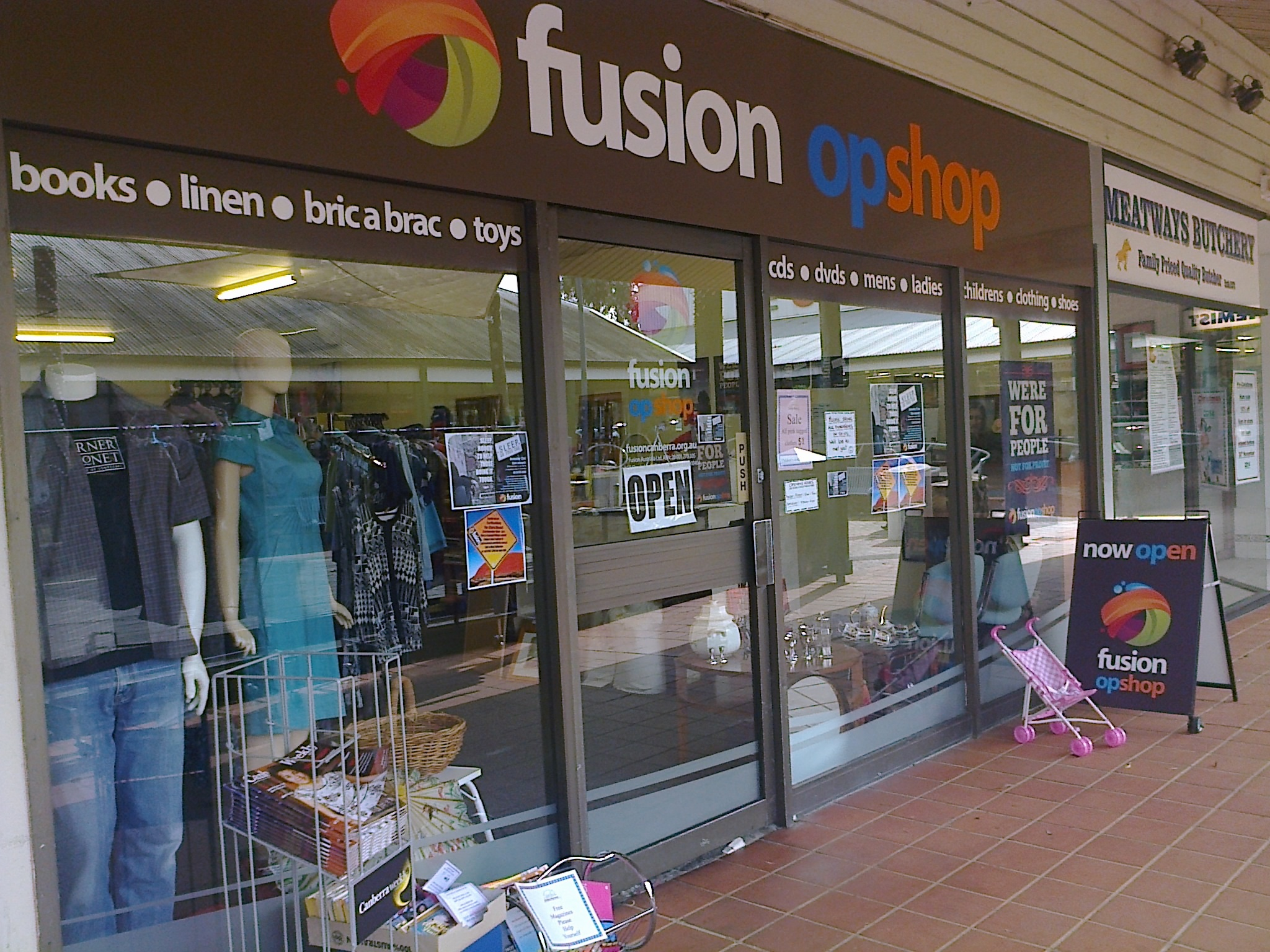 Fusion Op Shop is settling in really well and thriving